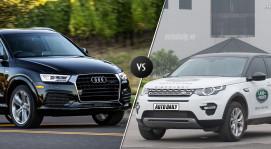 Land Rover Discovery Sport vs. Audi Q3: cuộc đua của SUV hạng sang