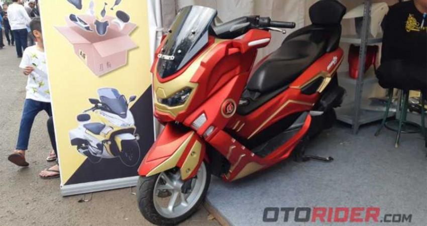 """Yamaha NMax 155 """"độ"""" dàn áo Iron Man có giá từ 2.350 USD"""