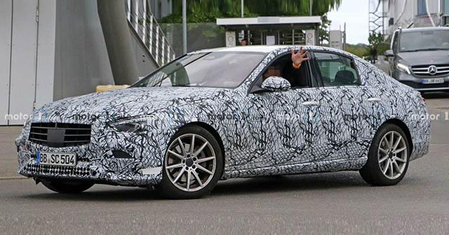 Mercedes-Benz C-Class 2021 ngụy trang chạy thử, nhiều nâng cấp mới đáng chú ý