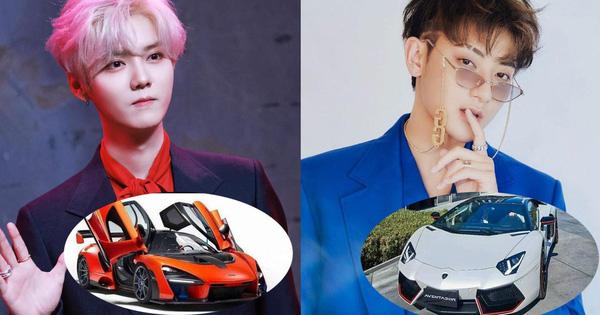Dàn xe của hai thành viên EXO bị tố