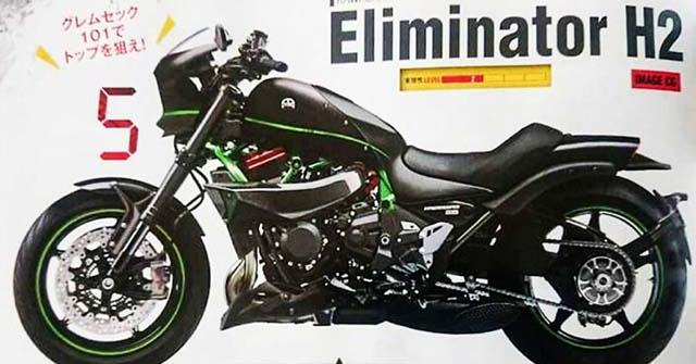 Kawasaki Eliminator H2: Siêu xe bí ẩn hứa hẹn khuấy động thị trường 2021