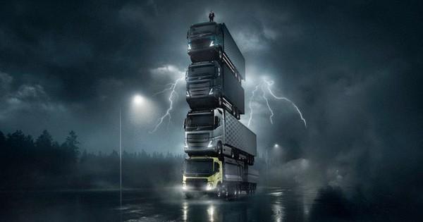 Volvo lại làm quảng cáo xe tải siêu chất và Chủ tịch một lần nữa đóng vai chính