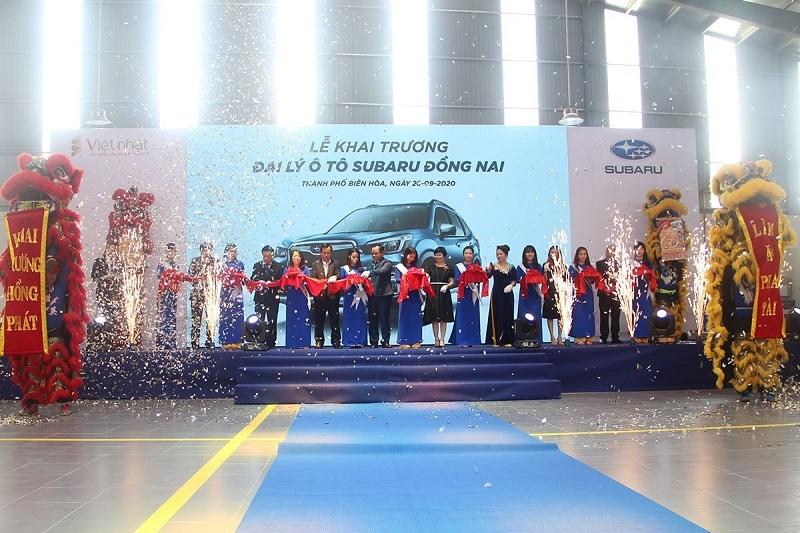 Khai trương đại lý đầu tiên của Subaru tại Đồng Nai