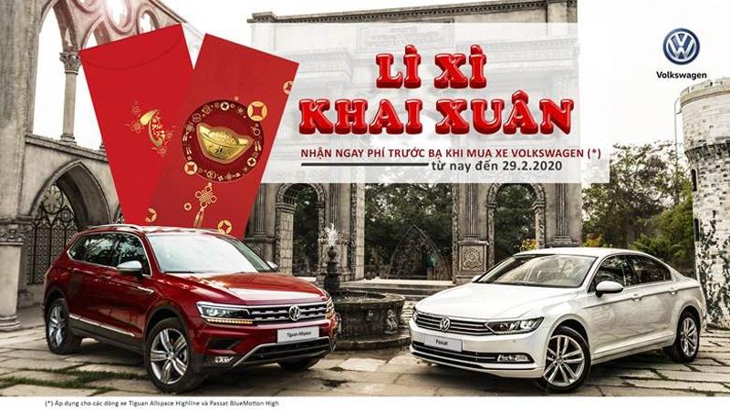 Volkswagen ưu đãi lớn cho Tiguan, Passat