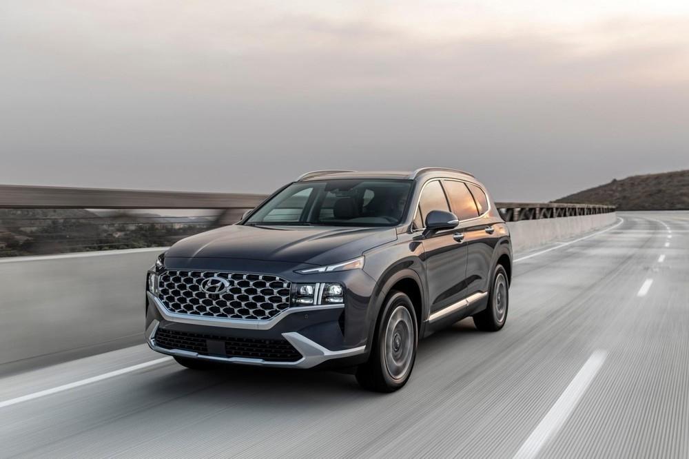 Hyundai Santa Fe 2021 lộ thêm thông tin trước ngày ra mắt