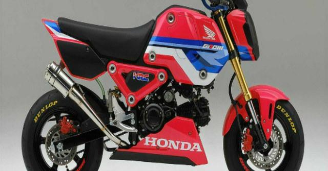 2021 Honda MSX125 Grom HRC đậm chất đua nhìn cực ngầu