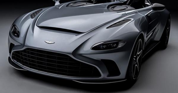 Aston Martin trang bị động cơ V12 cho siêu phẩm Speedster mới