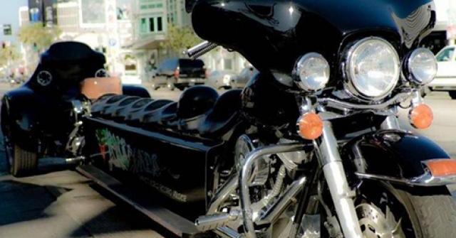 Khám phá chiếc siêu mô tô dài nhất thế giới Harley-Davidson Anaconda Limo