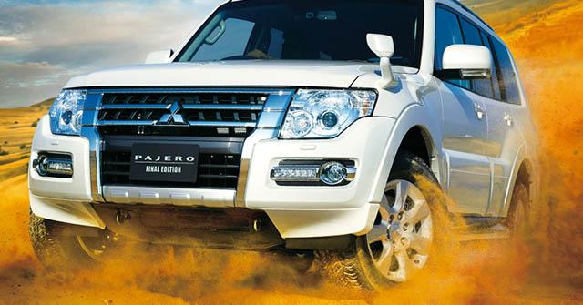 Mitsubishi Pajero sắp bị khai tử, tạm biệt một mẫu xe biểu tượng